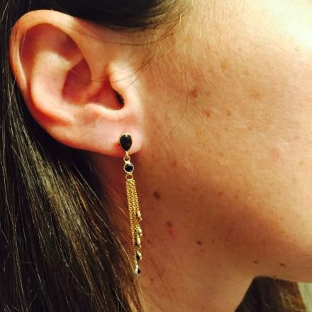Boucles d'oreilles Cascade