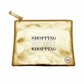 Pochette Dorée Shopping