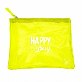 Pochette Jaune Fluo Happy Day