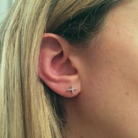 Boucles d'oreilles X