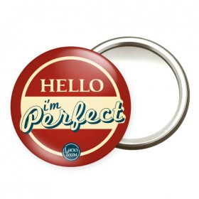 Miroir Hello I am Perfect