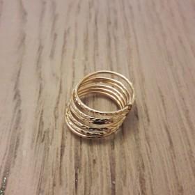 Bague multi anneaux Reflets