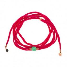 Bracelet fil de soie