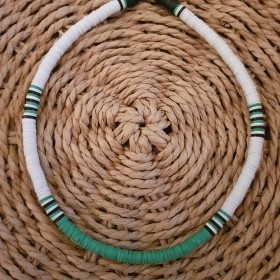 Collier African Style Emeraude