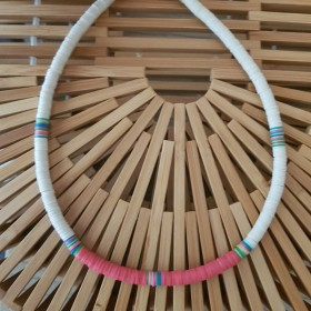 Collier African Style Cherry