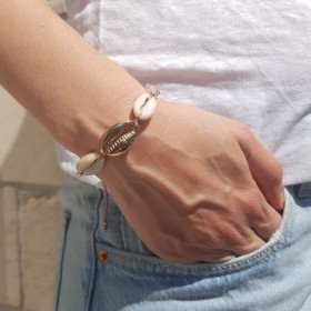 Bracelet Cauri trio