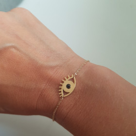 Bracelet Oeil Noir
