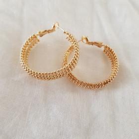 Créoles perlées