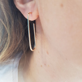 Boucles Seventies Gold