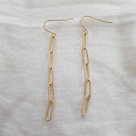 Boucles maille rectangle