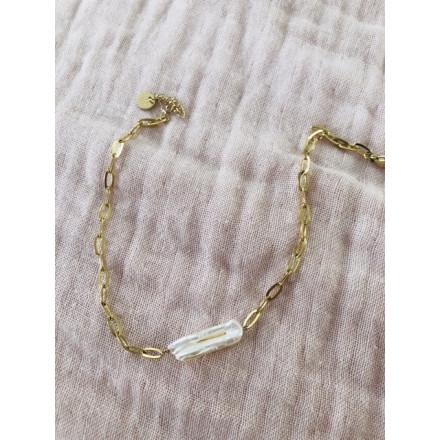 Chaîne de cheville perle