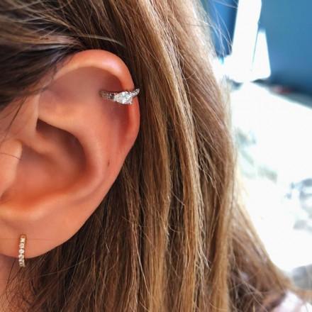 Bague d'oreille petite poire
