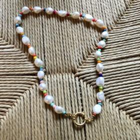 Collier Multicolore Perles