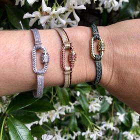 Bracelet mini mousqueton