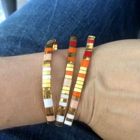 Bracelet Miyuki Corail