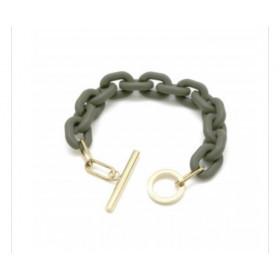 Bracelet oversize Kaki