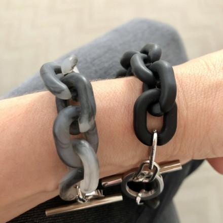 Bracelet Oversize argent