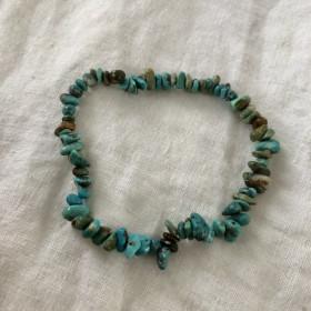 Chaîne de cheville turquoise