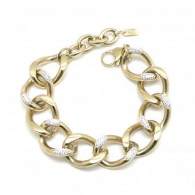 Bracelet Madeline Or Strass blancs