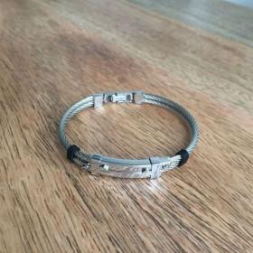 Bracelet acier et câble
