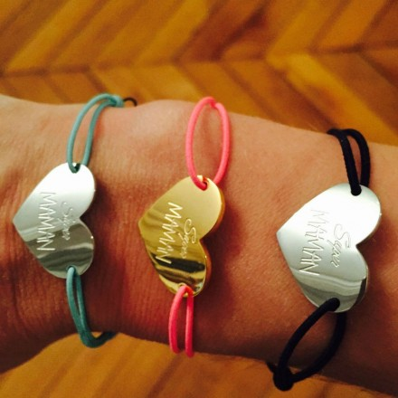Bracelet cordon Super Maman