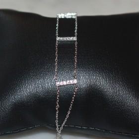 Bracelet Echelle Argent