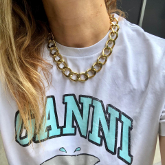 New collection!!! #gold #silver #passiongrossemaille #ganni